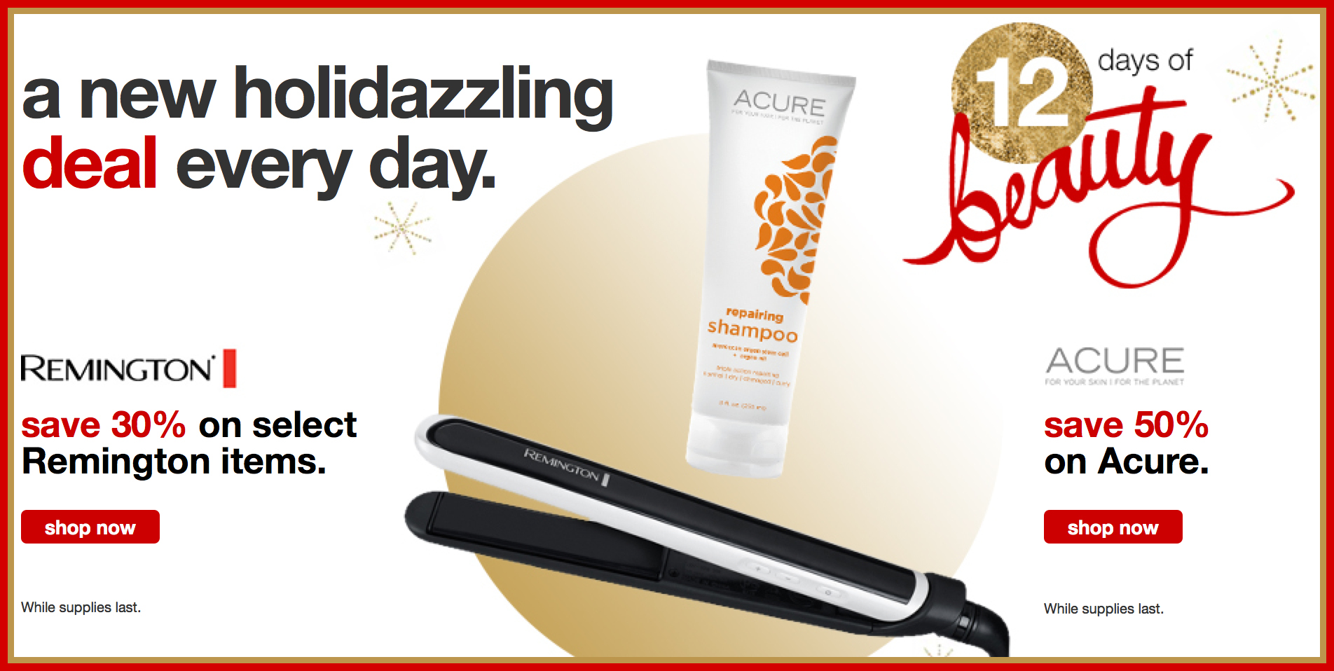 087914e2ecd4 Target: 30% Off Select Remington Items + 50% Off Acure Facial Products (Today  Only)