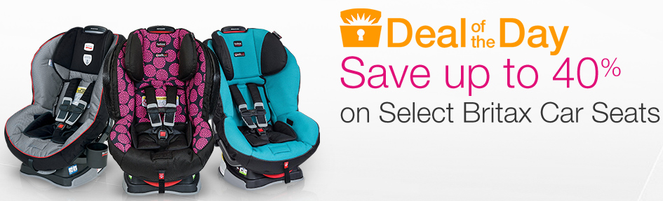 Amazon Up To 40 Off Britax Car Seats Today Only