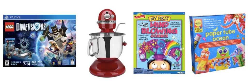Amazon Deals Save On Robotic Toys Kitchenaid Mixer Ipad