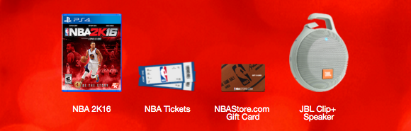 NBA Sweeps: Enter To Win A KIA Optima + Over 2,500 Instant ...