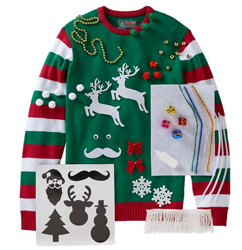 Kohl\u0027s Men\u0027s Ugly Christmas Sweater Kits as Low as $10.49