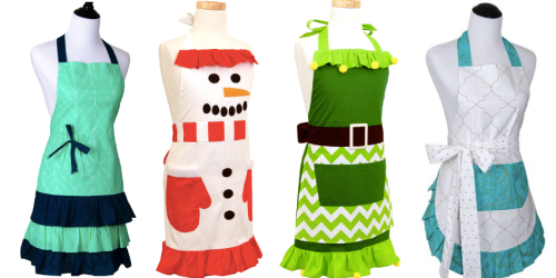 Flirty Aprons: 70% Off + Free Shipping = Kids Aprons Only $5.98 Shipped + More