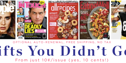 Weekend Magazine Sale: ESPN, All Recipes, Boy's Life & More (From Just 10¢ Per Issue)