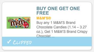 M&M's coupon