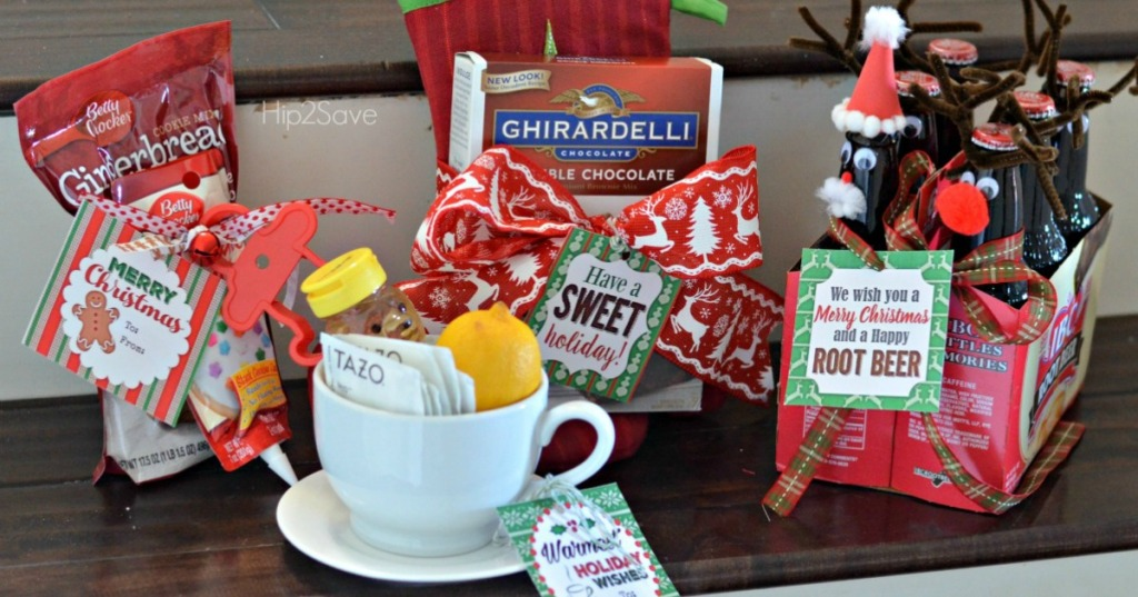 FOUR Easy and Affordable Holiday Gift Ideas (PLUS, Free Printable Gift Tags)