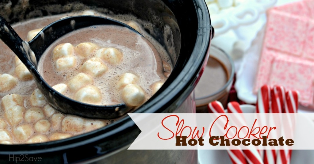 Slow Cooker Homemade Hot Chocolate by Hip2Save.com