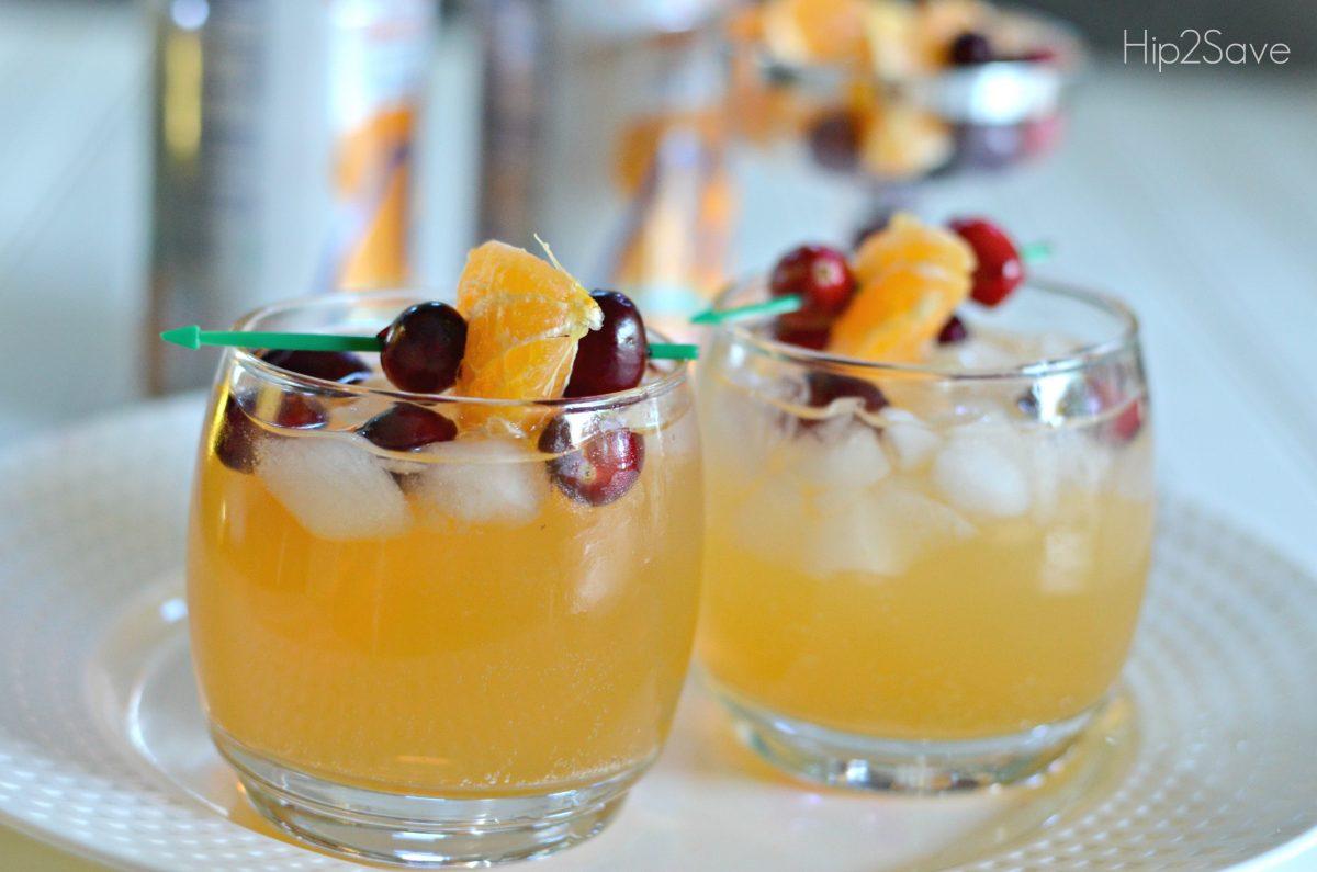 Sparkling Juice Mocktail Hip2Save.com