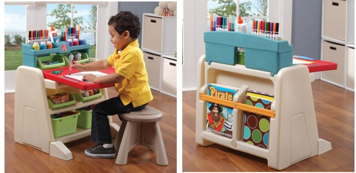 Step2 Flip And Doodle Desk W Stool Easel Only 49 40