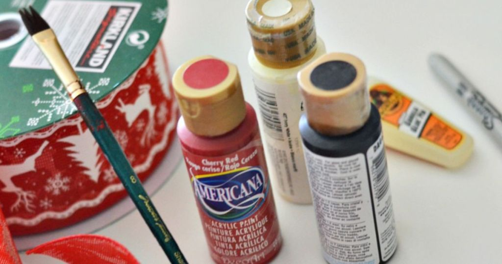 supplies for santa centerpiece