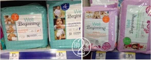 Well Beginnings Jumbo Pack Diapers