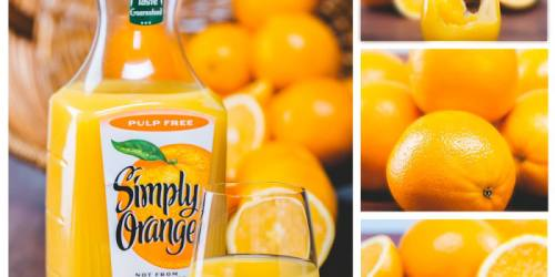 New $1/1 Simply Orange Coupon = Only $2 Each at Target, Meijer, Walmart & Walgreens