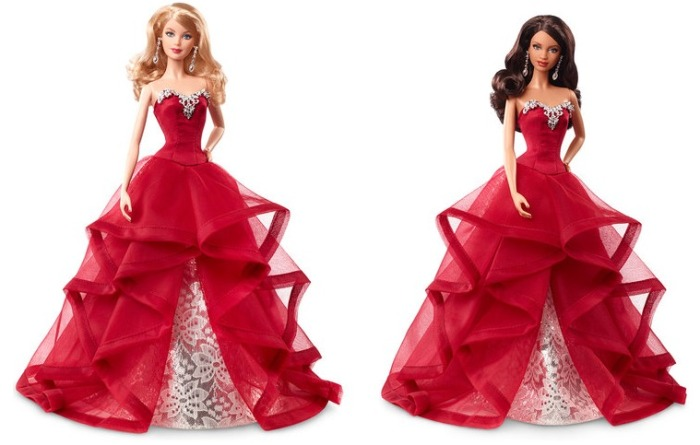 2015 Holiday Barbies
