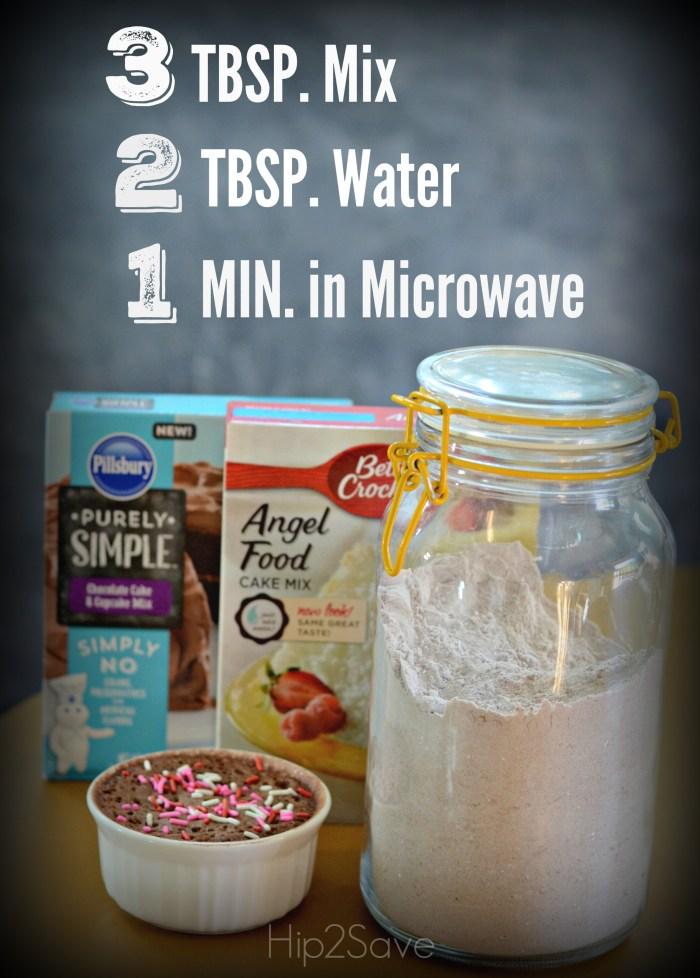 3-2-1 Microwave Cake