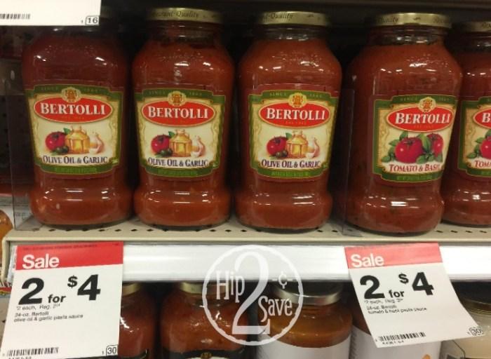 Bertolli Pasta Sauce at Target