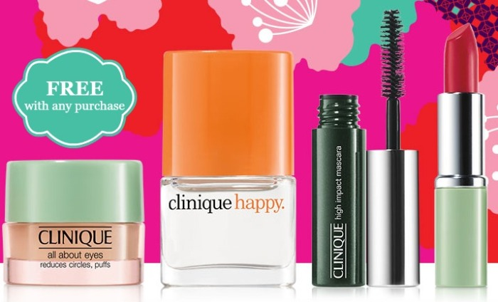 Clinique Free Gift Offer