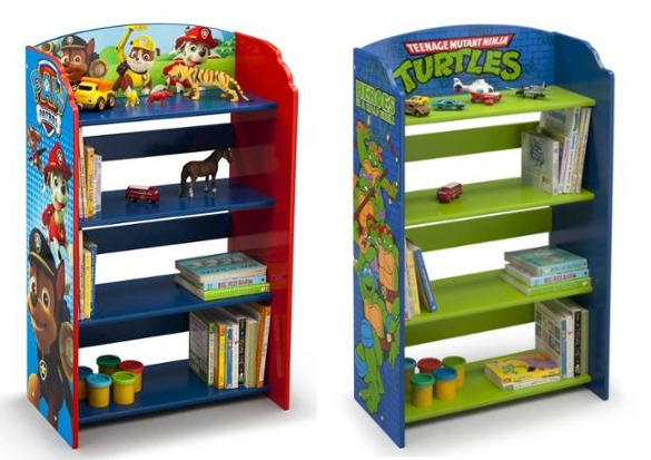 walmart delta children 39 s character themed bookshelves. Black Bedroom Furniture Sets. Home Design Ideas