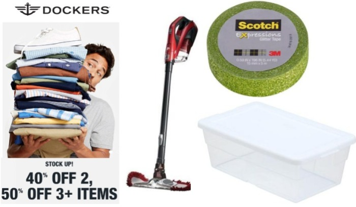 Dockers and Home Depot Deals