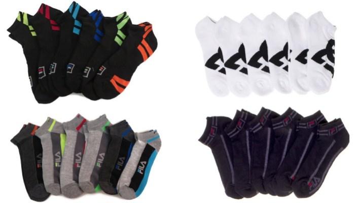 Fila Men's Moisture Wicking Socks