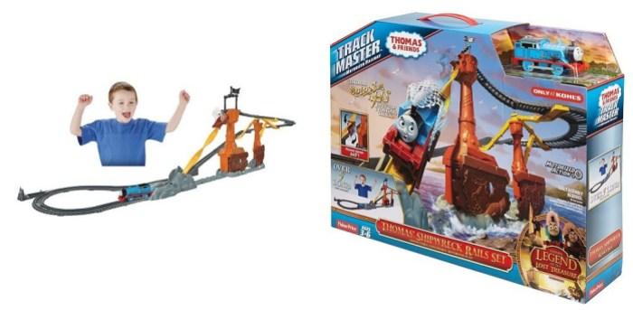 Fisher-Price Thomas & Friends TrackMaster Shipwreck Rail Set
