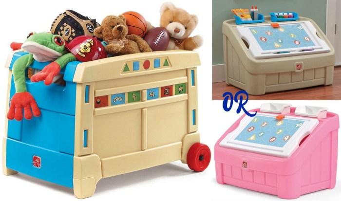 Kohl's Toy Boxes