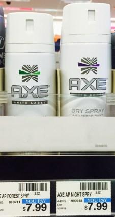 Axe Dry Spray CVS
