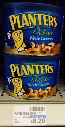 Pkanters Whole Cashews CVS