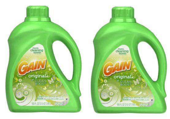 Gain Liquid Detergent 100 oz