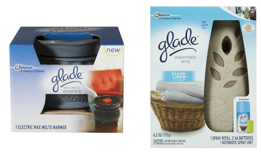 Glade Wax Melts Warmer and Automatic Spray Kit