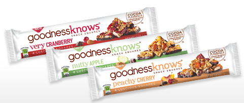 Goodness knows snack bars