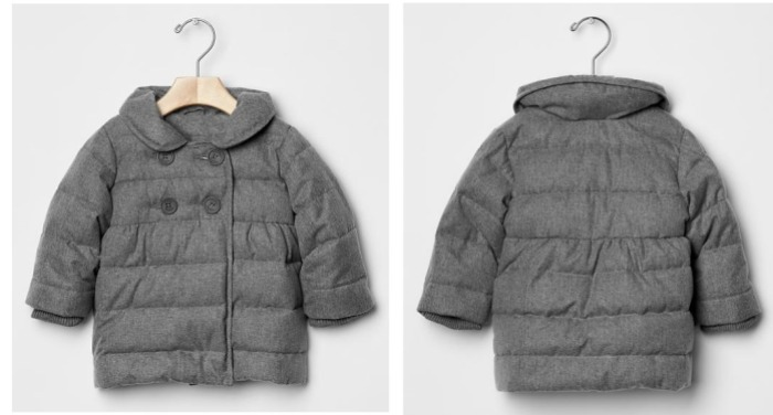 Herringbone Puffer jacket