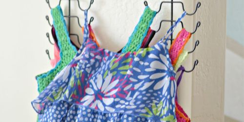 4 Easy Ways to Organize Tank Tops
