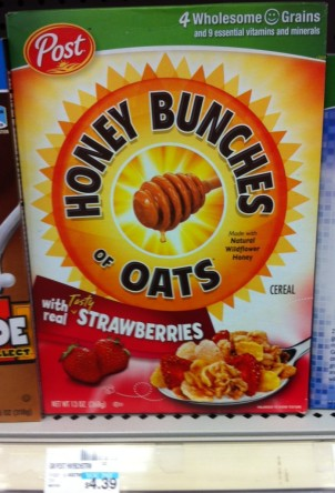 Honey Bunches of Oats CVS