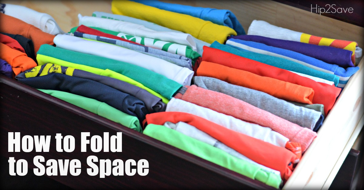 How to Fold to Save Space