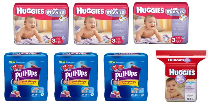 Huggies Diapers, Pull-ups and wipes