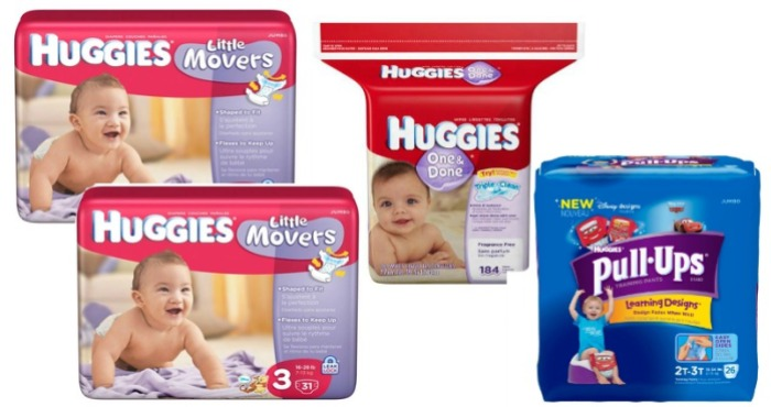 Huggies Diapers, Wipes and Pull-Ups