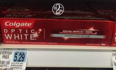 Rite Aid Colgate Optic White