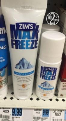 Rite Aid Zim's Max Freeze