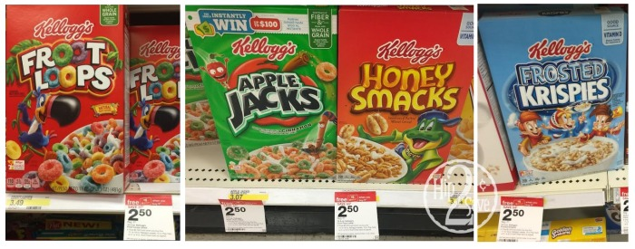 Kellogg's Cereal at Target