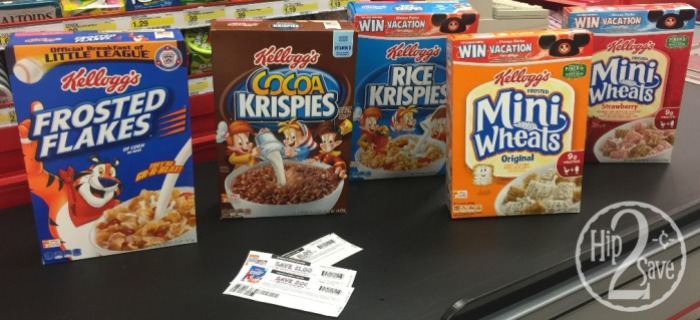 Kellogg's Cereal Target deal