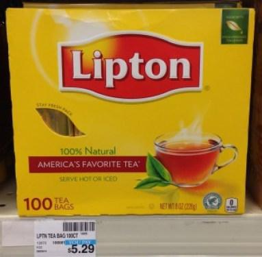 Lipton Tea Bags CVS