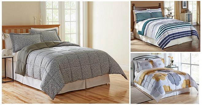 LivingQuarters Microfiber Down-Alternative Comforter Sets