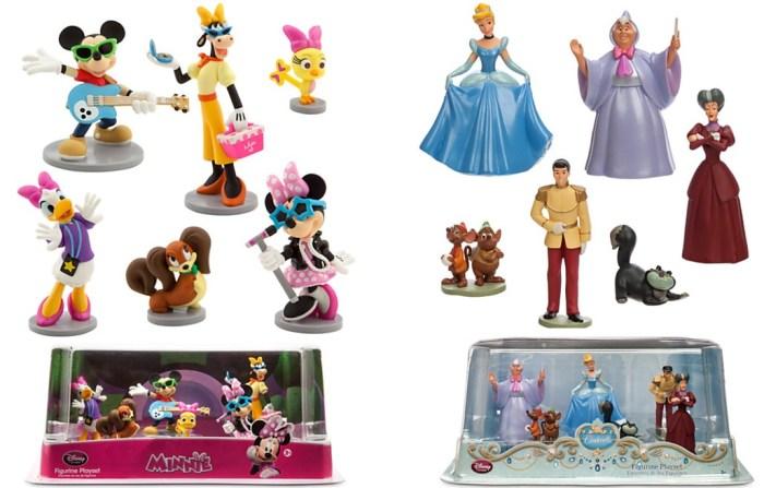 Minnie and Cinderella Figurine Playsets