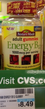 Nature Made Adult Energy B12 Gummies CVS