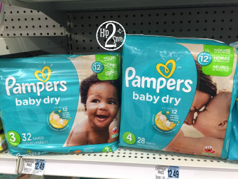 Two New 3 Off Pampers Diapers Coupons Only 2 47 Each