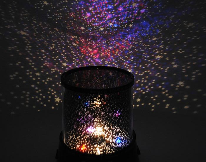 Romantic Galaxy Star Projector Night Light