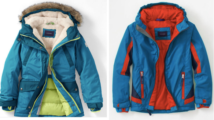 Lands' End: Extra 20% Off Clearance Prices = Nice Buys on Kid's Parkas AND Snow Boots