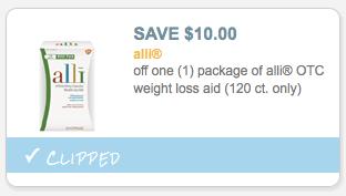 ali coupons alli diet pills coupons