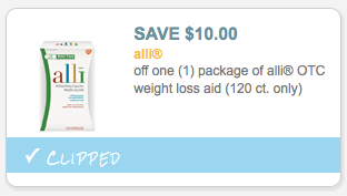 image about Alli Printable Coupon called Contemporary $10/1 Alli Excess weight Decline Assist Coupon + Future Focus Package