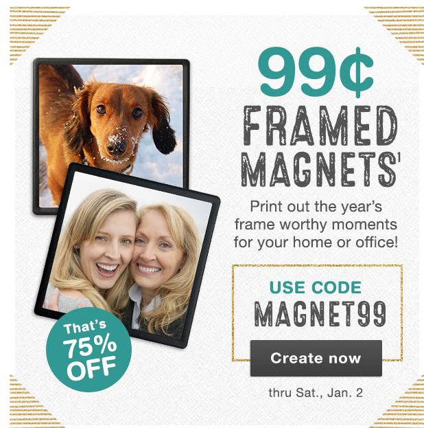 framed magnet