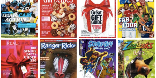 Best of 2015 Magazine Sale: Big Savings on Consumer Reports, Sports Illustrated, AllRecipes
